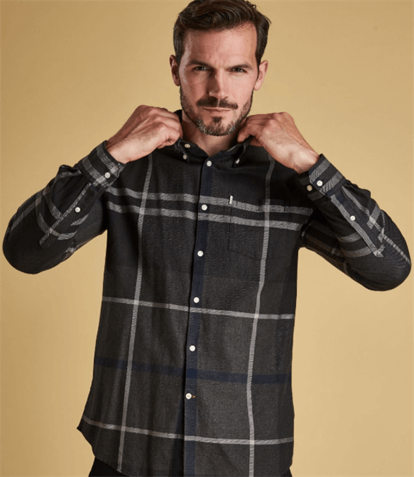 Dunoon Tailored Check Shirt