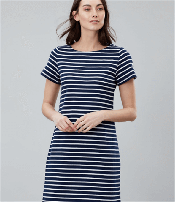 Riviera Navy White Stripe