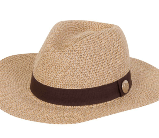 Bora - Natural Wicker Beach Hat