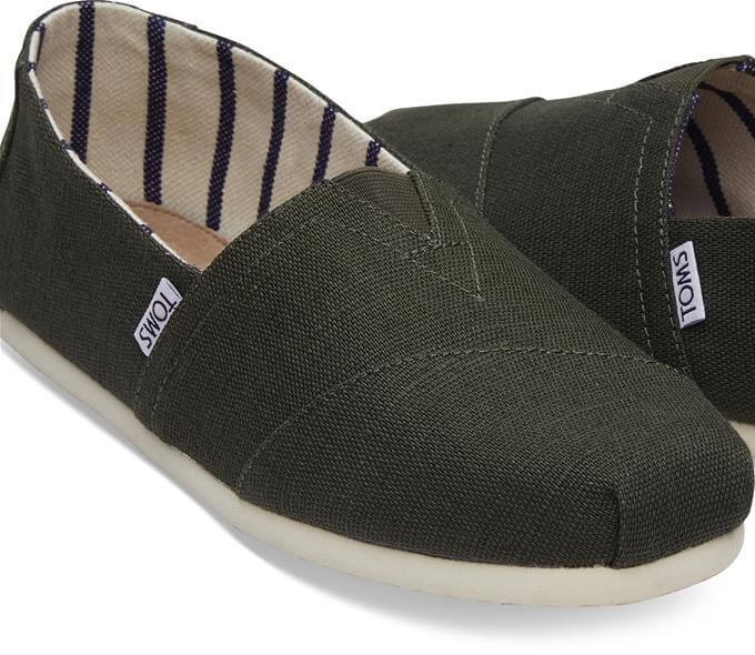 Toms Classic Canvas - Pine