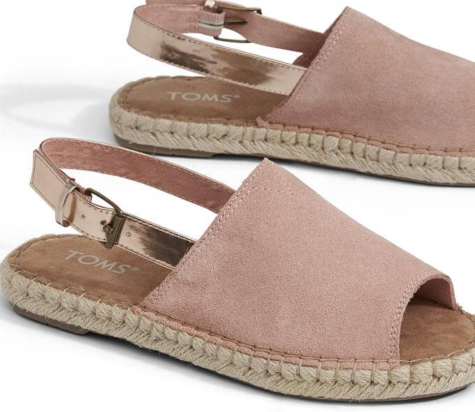 TOMS Clara Bloom Rose Espadrilles