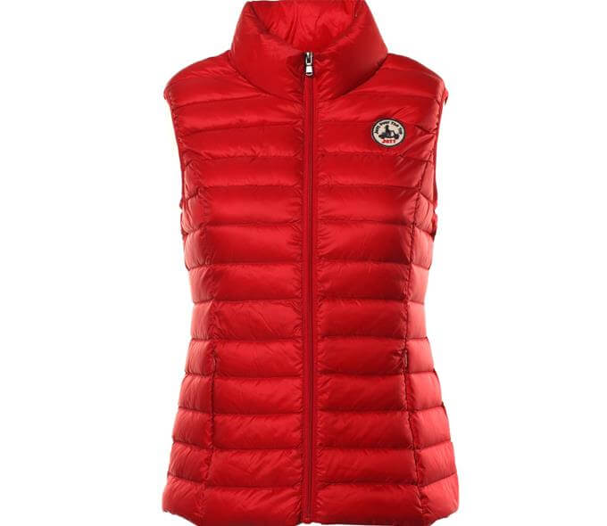 Sead Gilet in Red