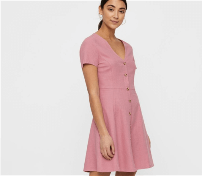 MANNA DUSTY PINK DRESS