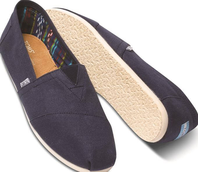 Toms Classic Canvas - Navy