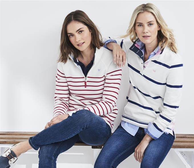Womens Classic Striped Jumpers